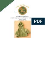 Knit Pattern Baby Hoodie L0051