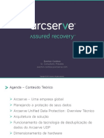 Treinamento ArcServe  UDP - TechDay First Steps