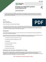 ntp_479 Seguridad en reactividad de productos quimicos