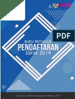 Buku Petunjuk Pendaftaran Ssp3k 2019(1)