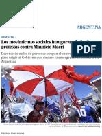 Argentina_ Los Movimientos Sociales Inauguran El Año de Protestas Contra Mauricio Macri _ Argentina _ EL PAÍS