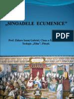 Prezentare ,,Sinoadele Ecumenice'' Cls. 11 Istoria Crestinismului