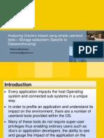Analyze Application Impact - Storage Subsystemv2