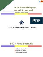 BSC Workshop