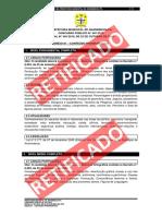 Conteúdo Programático Prefeitura Ananindeua 2018