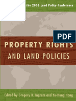 Property Rights and Land Policies