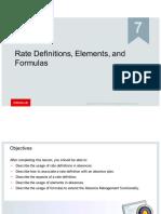 07 Rate Definitions Elements Formulas