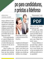 14-02-19 No es tiempo para candidaturas , le advierten priistas a Ildefonso