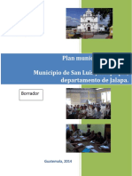 Plan Municipal de Salud 2014-2019