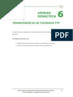 Tema 6 - Transferencia de Ficheros Ftp