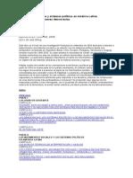 Movimientos sociales y sistemas políticos en América Latina