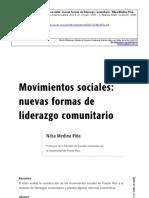 Movimientos sociales Nilsa Medina Piña 2008