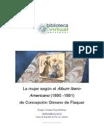 La mujer según el álbum ibero americano de Concepción Gimeno de Flaqer-Diego Chozas