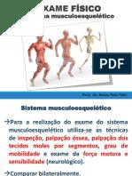 Exame Físico Sistema Musculoesquelético