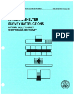 FEMA Manual National Shelter Survey Instructions October 1990