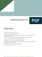 Kumpulan Materi 2019