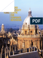 Ten Years of Oxford University Centre for Corporate Reputation PDF Modified Through PDF Viewer