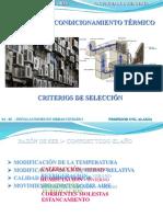 10.- Sistemas de Acondicionamiento Térmico (1)