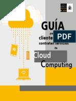 Guía Para Clientes Que Contraten Servicios de Cloud Computing - AGPD