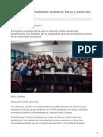 10-02-2019 - Más de 42 mil estudiantes recibieron becas y estímulos económicos - Elsoldehermosillo.com.mx