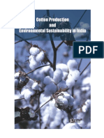 Reasearh-Report-Cotton Production and Environmental Sustainability in India