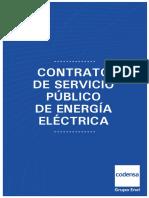 Contrato Servicio Publico Energia Electrica