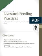 Livestock Feeding Practices