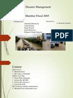 Mumbai Flood Policies