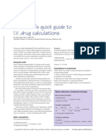 The Nurse s Quick Guide to I v Drug Calculations.1 (4)