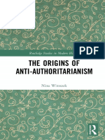 Witoszek - The Origins of Anti-Authoritarianism -Sanctum