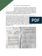 Sobre Arco – Madrid y Las Naciones Indígenas de Perú