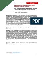 Análise bibliométrica da literatura sobre benefícios do Machine Learning para previsão de demanda de bens de consumo