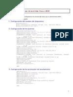 Configuracion Router