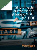 2017 Síndrome de quemarse por el trabajo (SQT) y estrés Funcionarios de locomoción colectiva de la ciudad de arica, chile.