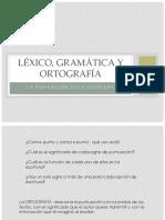 lexico gramatica y ortografía