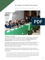 13-02-2019 Sonora es ejemplo a seguir en rendición de cuentas ASF - El Imparcial