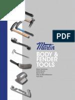 Body Fender Repair Tools Catalog