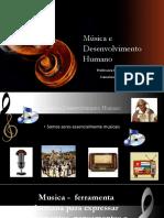 Música e Desenvolvimento Humano PP
