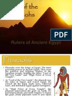 Pharaohs of Egypt-Menes