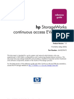 (PDF) HP Storage Works Continuous Acces EVA Design
