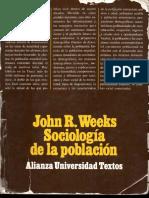 sociologia de la ppoblacion