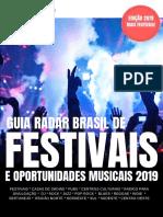 Guia Radar Brasil de Festivais 2019