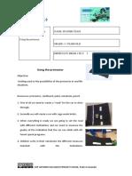 1. Lego WeDo worksheet - Protractor