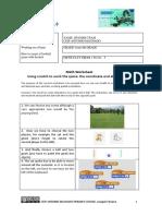 3. Scratch worksheet - Football Game