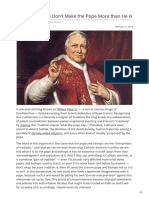 Onepeterfive.com-Happy Catholics Dont Make the Pope More Than He Is