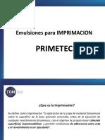 Emulsiones Para Imprimación - PRIMETEC
