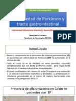 Parkinson y Tracto Gastrointestinal