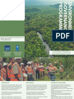 Brochure - Environmental Governance Programme (EGP)