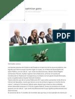 13-02-2019 Líder Sonora en optimizar gasto - Nuevo Día