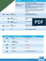 Cronograma Eventos SPE Ecuador Section 2019